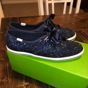Kate Spade Keds Navy size 6.5 shoes